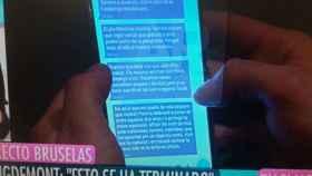 Así grabaron los mensajes a Puigdemont: Cada 10 minutos llegaba un mensaje más fuerte que el anterior