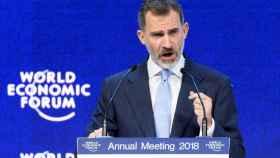 Conferencia de Felipe VI en el Foro Económico Mundial de Davos.