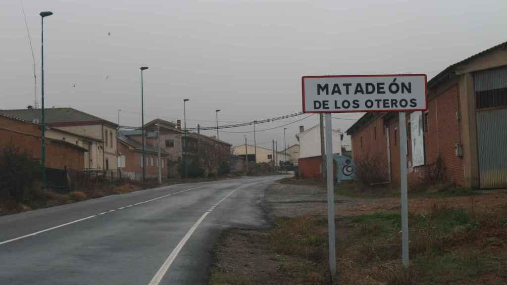En Matadeón apenas viven doscientos habitantes.