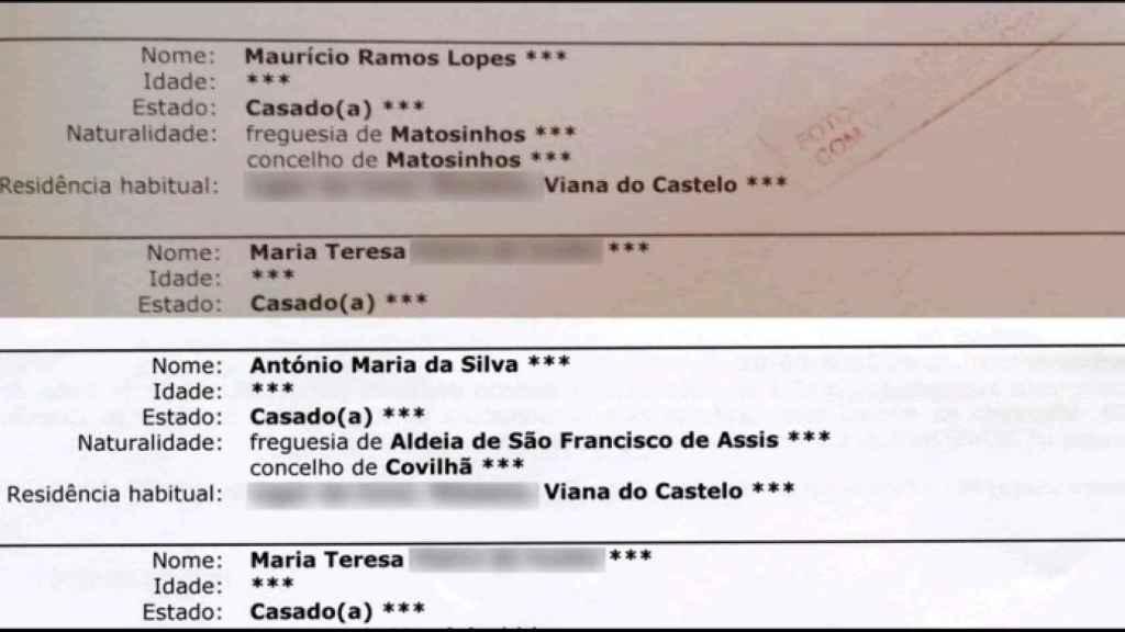 'El Portugués' utilizó dos identidades diferentes a lo largo de su vida.