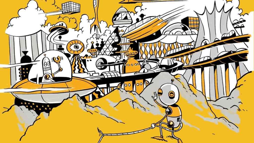 La ilustración de Zohar Lazar con la que Wired presenta su carta abierta.