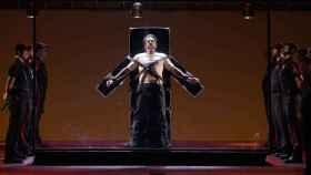 Imagen de Michael Mayes, antes de su ejecución como Joe de Rocher.