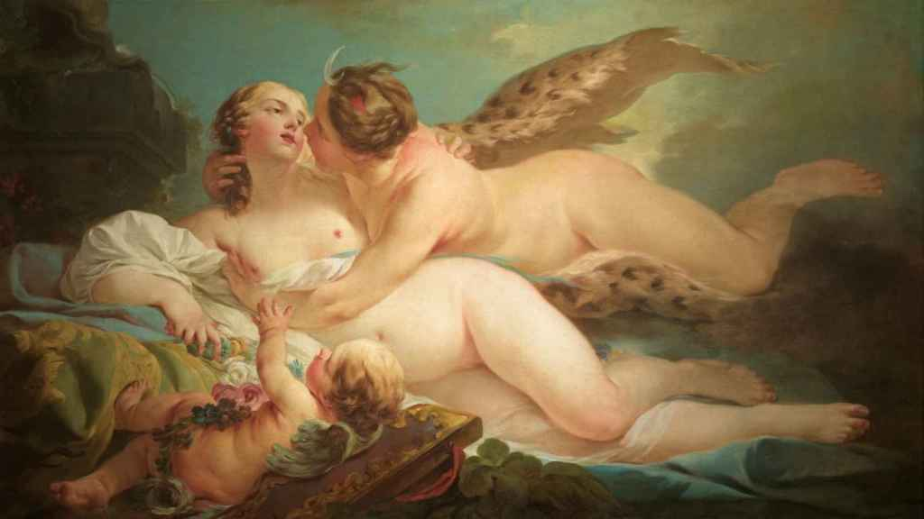 Calisto y Diana, de Jean-Baptiste-Marie Pierre.
