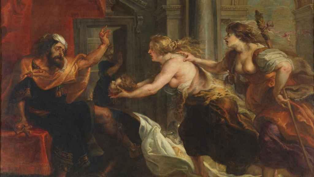 El banquete de Tereo, de Rubens.