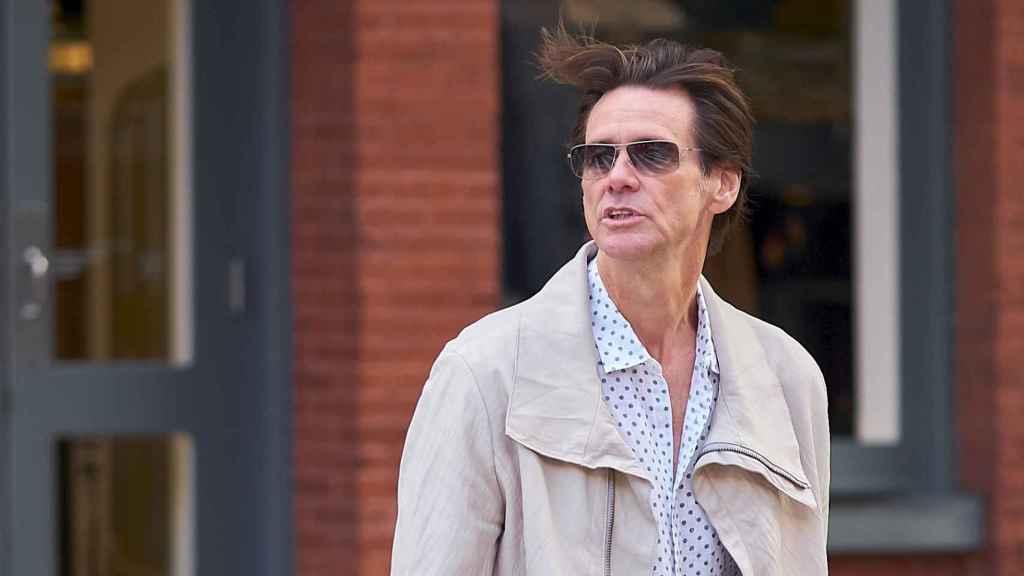 Jim Carrey en Nueva York.