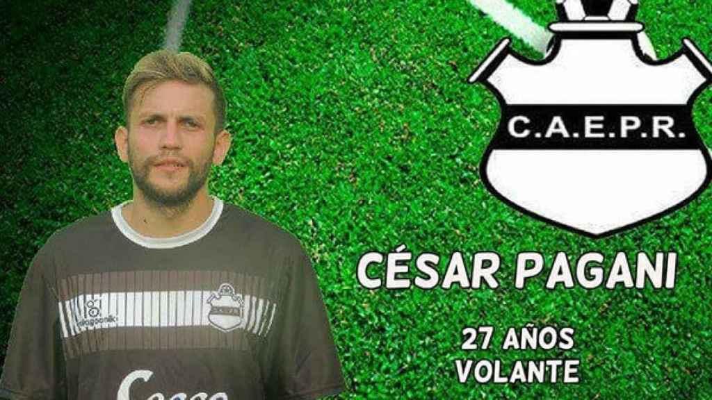 César Pagani, el futbolista que sacó una pistola para que su entrenador le pusiera de titular.