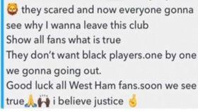 El mensaje crítico de Sakho con el West Ham.