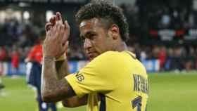 Neymar, con el PSG Foto Twitter (@PSG_inside)