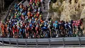 Imagen de la Vuelta a la Ciclista a la Comunidad Valenciana.