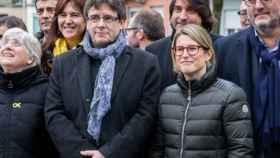 Artadi, junto a Puigdemont en Bruselas