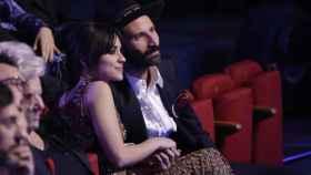 La pareja junta durante la gala de los Premios Goya 2018. Gtres.