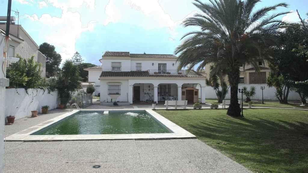 Vivienda registrada en Algeciras en el marco de la operación Mito.