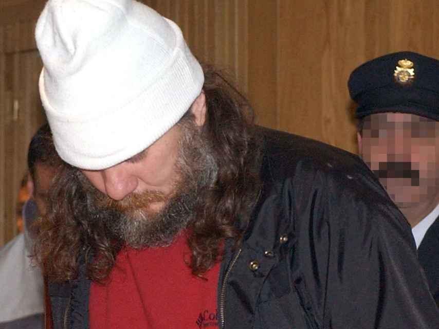 Sito Miñanco, en una fotografía de archivo de su detención en 2004.