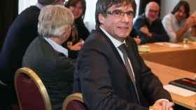 Puigdemont este lunes en una reunión con los diputados de JxCat este lunes en Bruselas