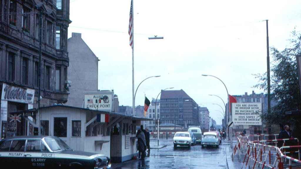 Lado aliado de Checkpoint Charlie.