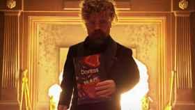 Peter Dinklage en el anuncio de Doritos emitido durante la Super Bowl