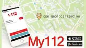 my112 aplicacion 112 emergencias ubicacion imagenes