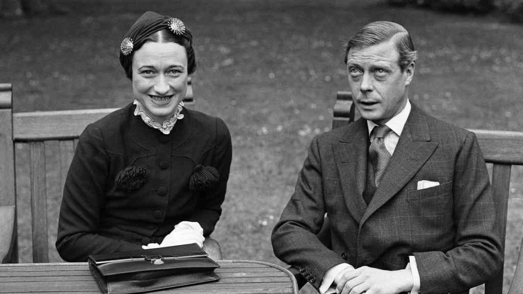 Wallis Simpson junto al Duque de Windsor, Eduardo VIII.