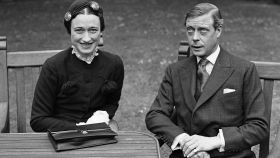 Wallis Simpson junto al Duque de Windsor, Eduardo VIII.