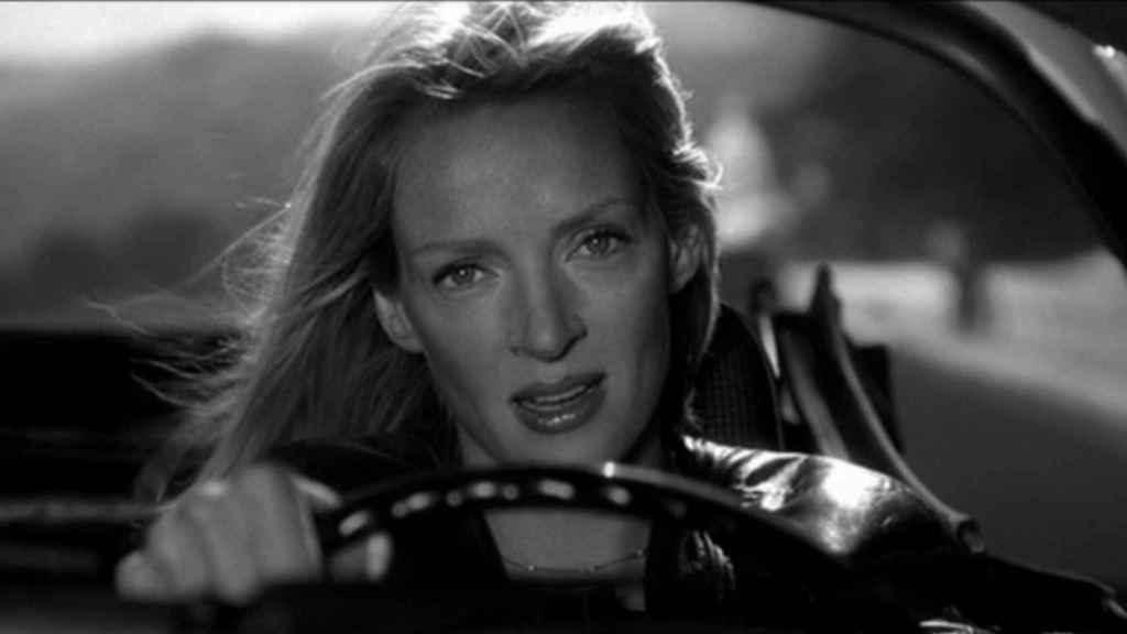 Uma Thurman en una escena de la película.