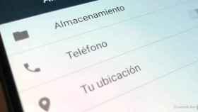 ¿Es peligroso que una aplicación pida permiso para acceder al teléfono?