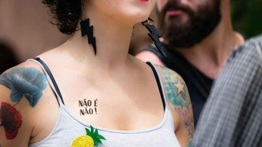 Los 'tatuajes' temporales.