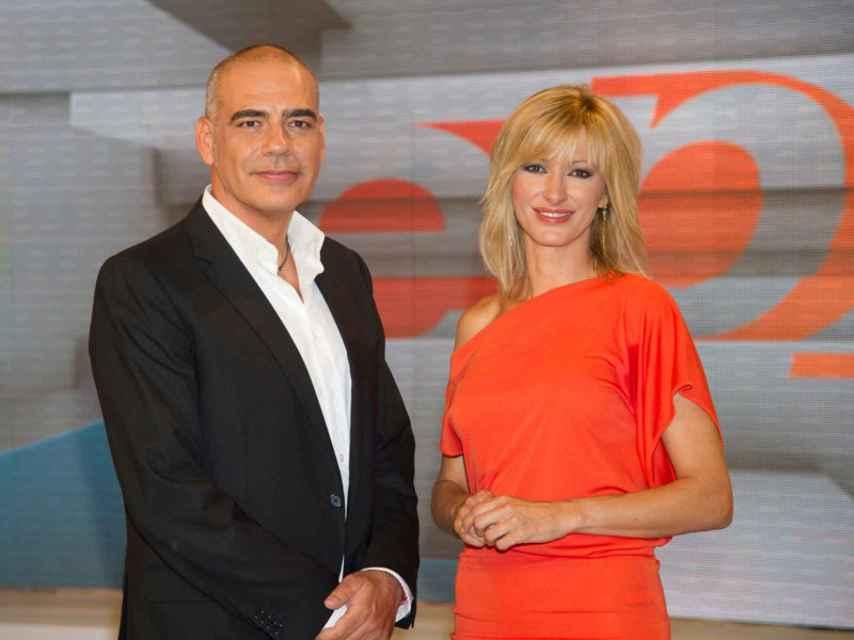 Nacho Abad y Susanna Griso. Gtres.