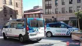 policia local furgoneta coche