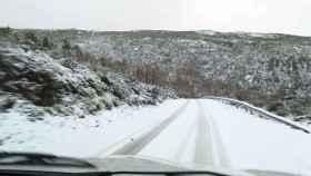 Zamora sanabria carretera hermisende nieve 4