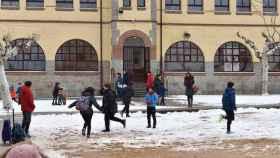nieve colegio guijuelo