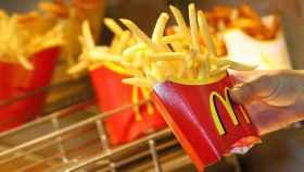 Las famosísimas patatas fritas del McDonald's.
