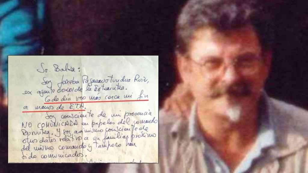 Joseba Pagazaurtundúa fue asesinado el 8 de febrero de 2003 en Andoáin.