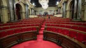 Imagen de archivo del Parlament de Cataluña.