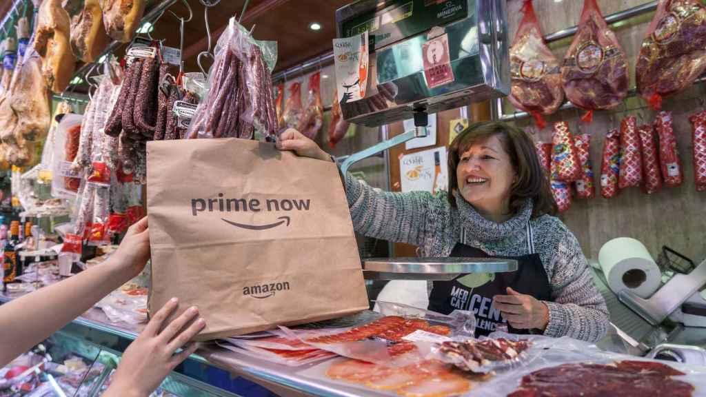 Amazon también ofrecerá los productos de Mercat Central de Valencia.