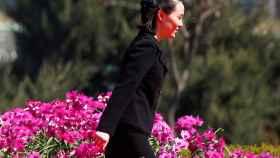 La hermana de Kim Jong-un, la representante de la delegación norcoreana en Corea del Sur.