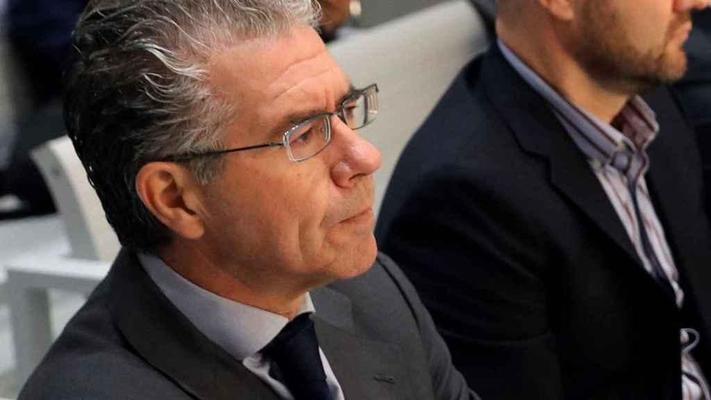 Francisco Granados durante el juicio del 'chivatazo' en la Audiencia Nacional.