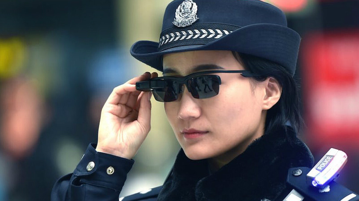 policia china gafas reconocimiento facial inteligencia artificial