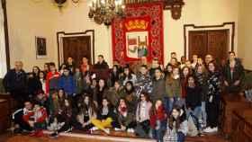 zamora ayuntamiento estudiantes holandeses