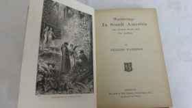 Una de las obras de Charles Waterton.