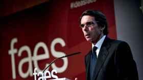 El expresidente del Gobierno, José María Aznar, en una foto de archivo.