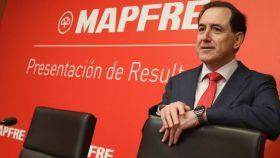 El presidente de Mapfre, Antonio Huertas, en una imagen de archivo.