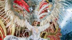 Carmen Laura Lourido, reina del carnaval de Santa Cruz de Tenerife.