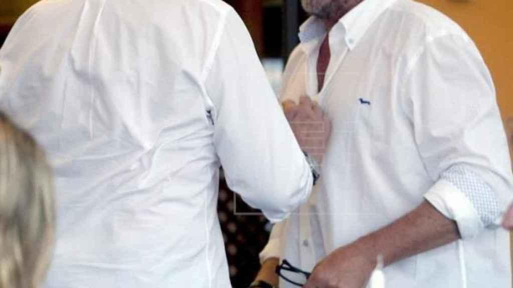 Juan Carlos I y Carlos Herrera, en una imagen de archivo.