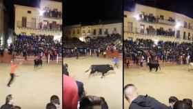 capea nocturna carnaval ciudad rodrigo