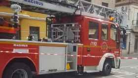 zamora bomberos arapiles derrumbe 01