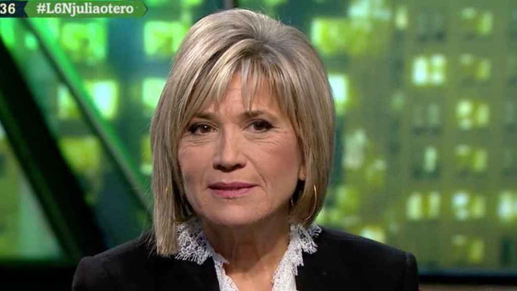 Julia Otero durante el programa 'LaSexta Noche'.