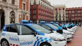Coches de la Policía Local de Salamanca.