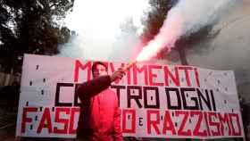 La manifestación contra el fascismo de este fin de semana.