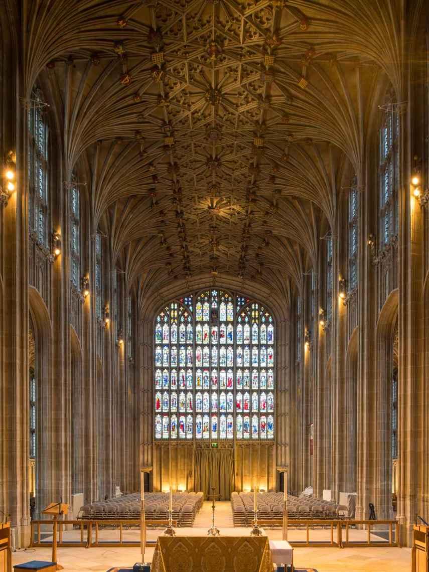 Interior de la Iglesia de George's en Windsor .