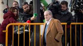José María García a su llegada a la Audiencia Nacional